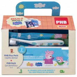 PHB PACK PETIT GEL DENTIFRICO INFANTIL  CEPILLO C REGALO
