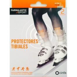 APOSITO PROTECTORES TIBIALES FARMALASTIC SPORT 2 U 7 CM X 95 CM