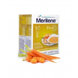 MERITENE PURE POLLO CON PATATAS Y ZANAHORIAS 450 G