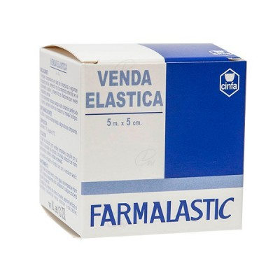 VENDA ELASTICA FARMALASTIC 5 M X 5 CM