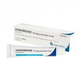 HEMORRANE 10 MGG POMADA RECTAL 30 G