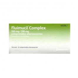 FLUIMUCIL COMPLEX 500200 MG 12 COMPRIMIDOS EFERVESCENTES