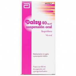 DALSY 40 MGML SUSPENSION ORAL 150 ML