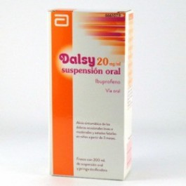 DALSY 20 MGML SUSPENSION ORAL 150 ML