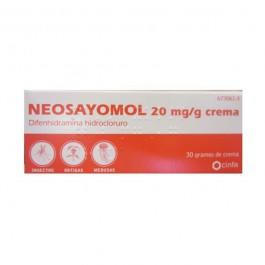 NEOSAYOMOL 20 MGG CREMA 30 G