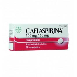 CAFIASPIRINA 50050 MG 20 COMPRIMIDOS