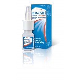 RHINOVIN 1 MGML NEBULIZADOR NASAL 10 ML