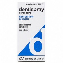 DENTISPRAY 50 MGML AEROSOL BUCAL SOLUCION 5 ML