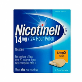NICOTINELL 14 MG24 H 7 PARCHES TRANSDERMICOS 35 MG