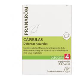PRANAROM CAPSULAS DEFENSAS NATURALES OLEOCAPS4