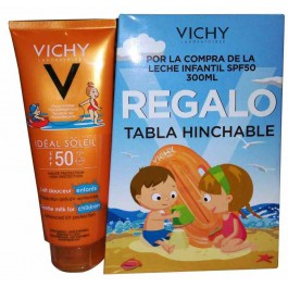 IDEAL SOLEIL LECHE INFANTIL 50 REGALO TABLA HINCHABLE