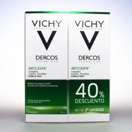 DERCOS TECHNIQUE ANTICASPA SECA 200 ML 2 U