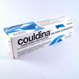 COULDINA CON ACIDO ACETILSALICILICO 500275 MG 20 COMPRIMIDOS EFERVESCENTES