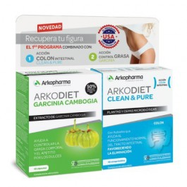 ARKODIET CLEANPURE  GARCINIA CAMBOGIA 45 COMP