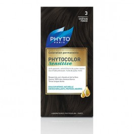 PHYTO COLOR SENSITIVE 3 CASTAÑO OSCURO