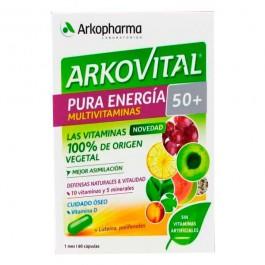 ARKOVITAL PURA ENERGIA 50 60 CAPSULAS