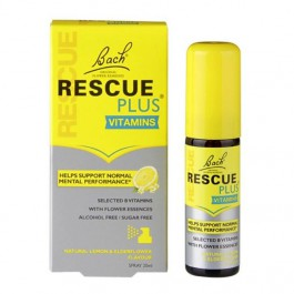 BACH RESCUE SPRAY  RESCUE PLUS GRATIS