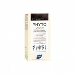 PHYTO COLOR 57 CASTAÑO MARRON CLARO