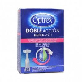 OPTREX MONODOSIS DOBLE ACCION OJOS SECOS 20 UD