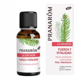 PRANAROM DIFUSION FUERZA Y VITALIDAD 30 ML