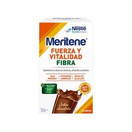 MERITENE FIBRA  CHOCOLATE 35G 14 UNIDADES